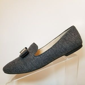 9a2f1aedd07 Cole Haan Shoes - Cole Haan Tali Bow Loafers Gray Flannel Flat 11 B